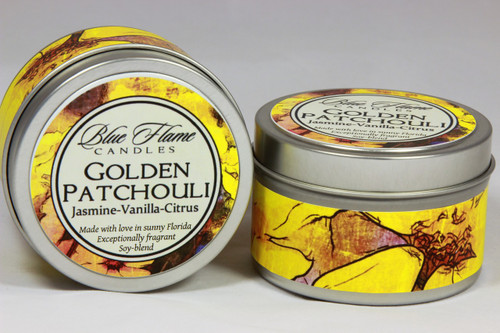 Golden Patchouli Travel Tin