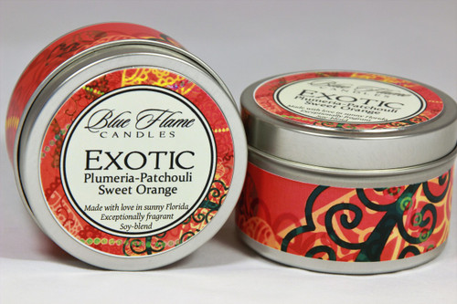 Exotic Travel Tin