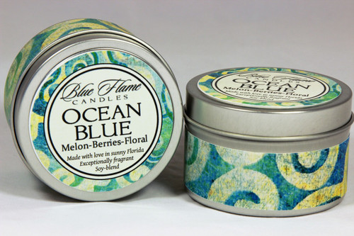 Ocean Blue Travel Tin