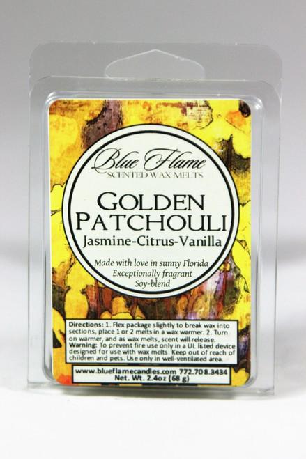 Golden Patchouli Scented Melt