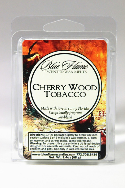 Cherry Wood Tobacco Scented Melt