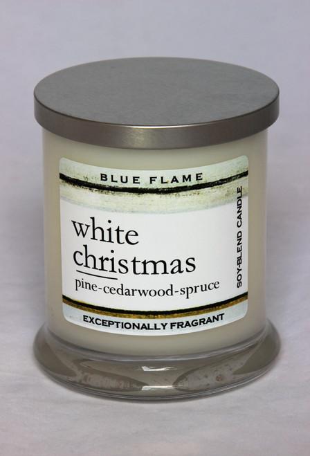 White Christmas Silver Top