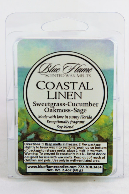 Coastal Linen Scented Melt