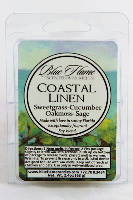 Coastal Linen Scented Melt