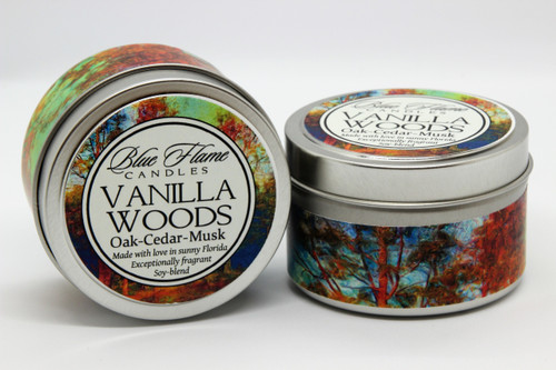 Vanilla Woods Travel Tin