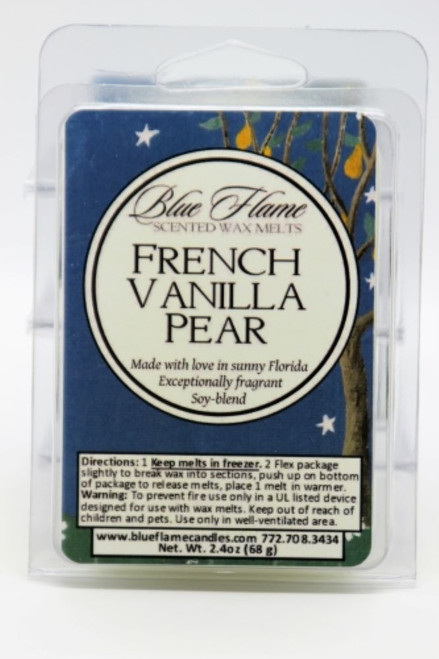 French Vanilla Pear Scented Melt