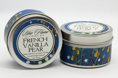 French Vanilla Pear Travel Tin
