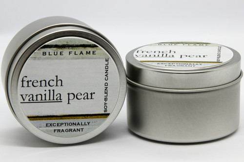 French Vanilla Pear Travel Tin-Modern