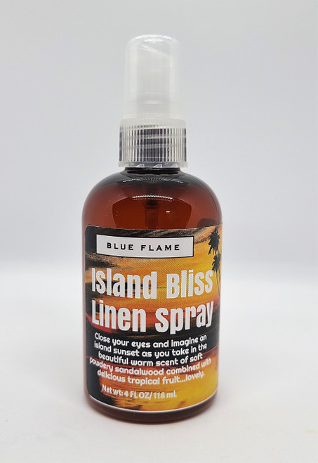 Island Bliss Linen Spray.