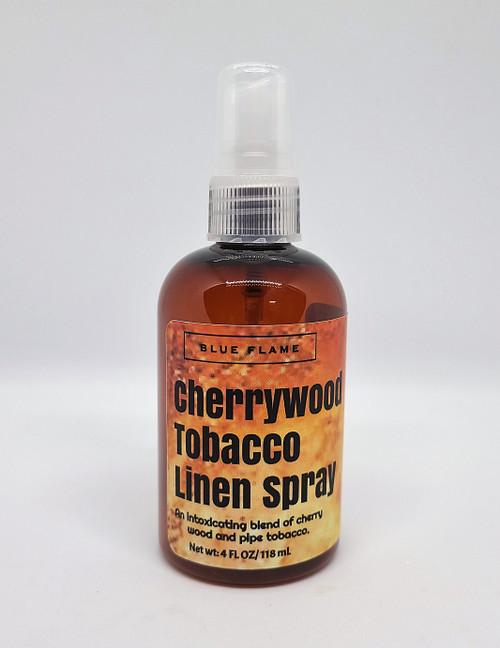 Cherrywood Tobacco linen spray.