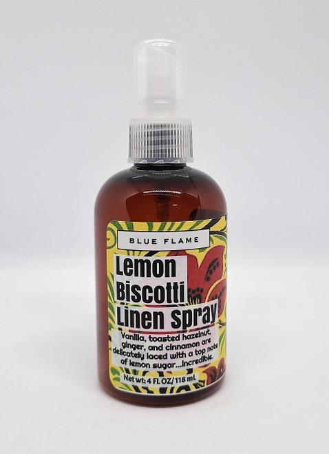 Lemon Biscotti Linen spray.