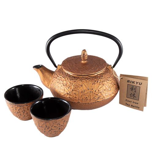 Tetsubin Set - Copper Texture