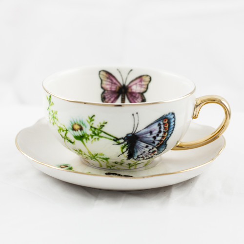Wings Of Grace - Tea Cup And Saucer Set