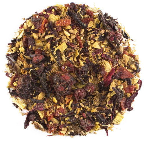 Ginger And Sweet Orange - Organic Herbal Tea 1oz