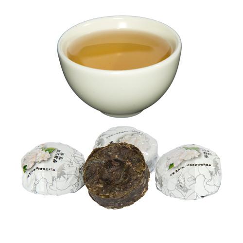Jasmine Green Pu-Erh Tuo Cha Tea 1oz