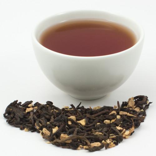 Pu-Erh Ginger - Organic Chinese Black Tea 1oz