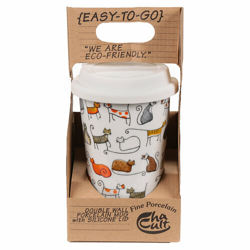 Cats N Dogs - Takeaway Tea Cup