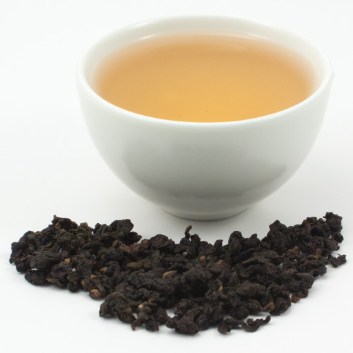Tung Ting Charcoal Roasted Oolong Tea 1oz