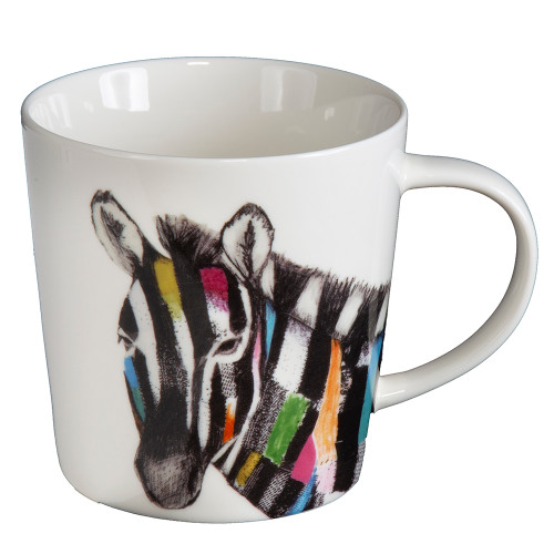 Colorful Zebra Cup With Gift Box