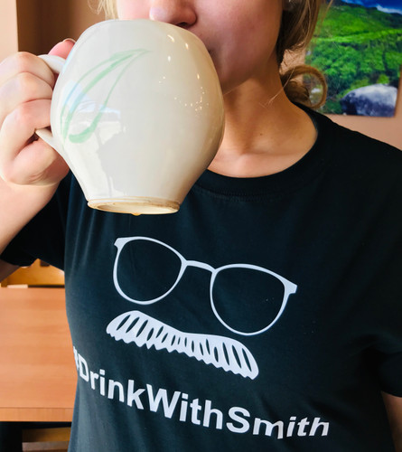Tea Shirts - #Drinkwithsmith