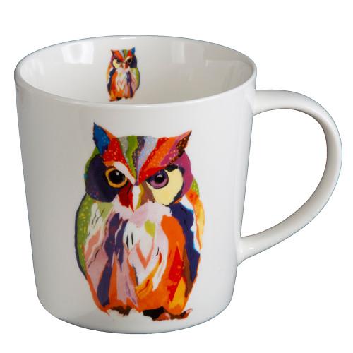 Colorful Owl Mug With Gift Box