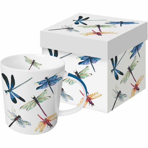 Dragonfly Tea Mug with Gift Box