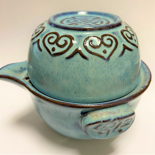 Personal Tea For One  - Blue