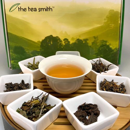 Virtual Tea Tasting Box with 7 tea samples
