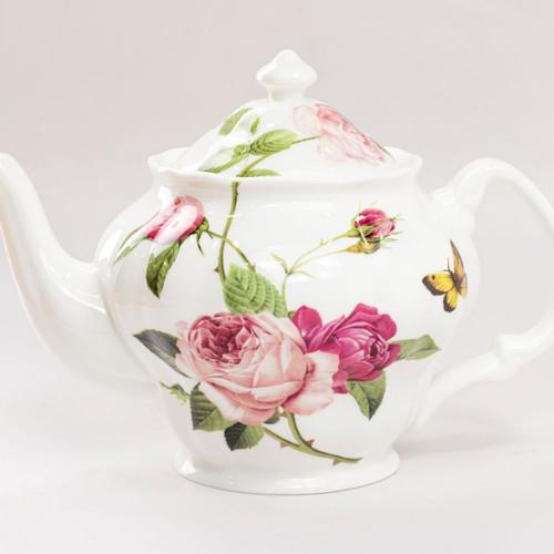 Kensington Pink Rose - Teapot