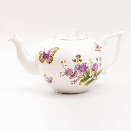 Purple Butterfly - Teapot