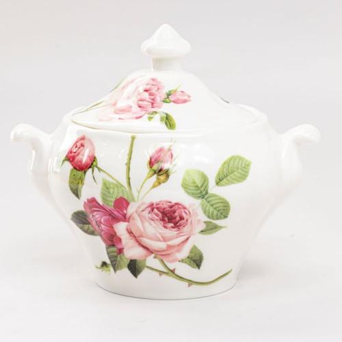 Kensington Pink Rose Sugar Creamer Set