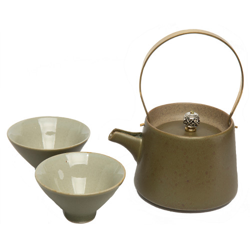 Eastern Tea Set With Tea Cups