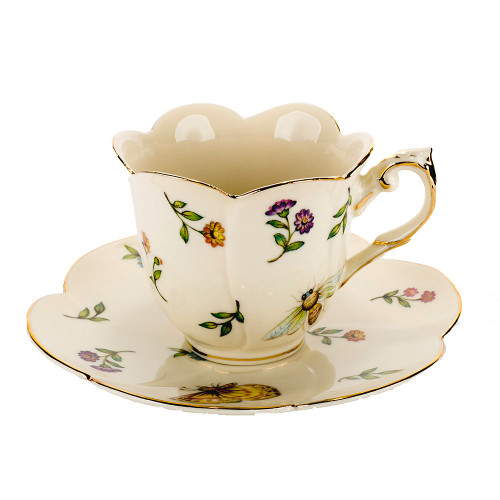 Morning Meadow - Tea Cup And Saucer Set