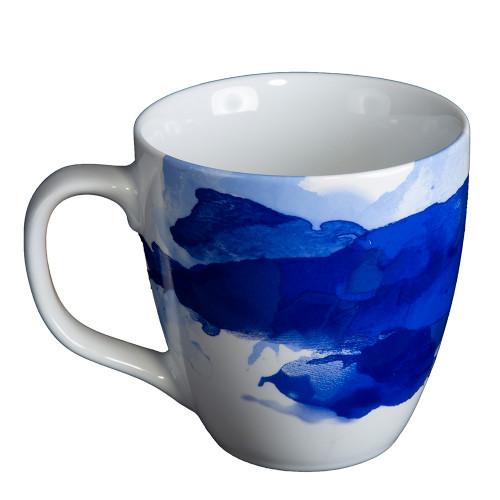 Seeing Blue Tea Cup