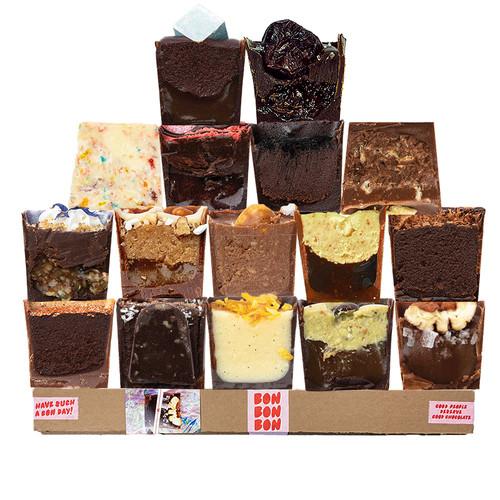 14 piece box of chocolates that avoid gluten from Detroit, Michigan