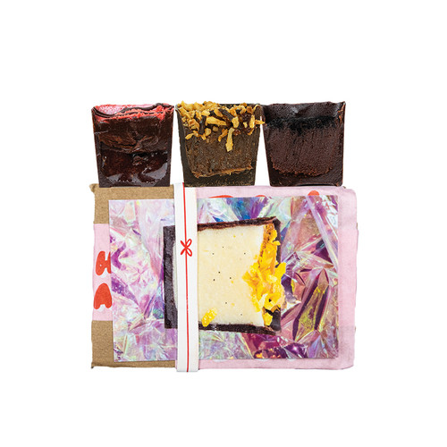 3 piece box of vegan chocolates  from Detroit, Michigan