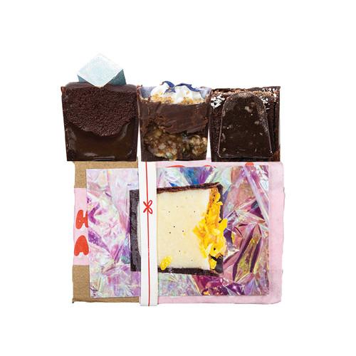 3 piece box of chocolates  from Detroit, Michigan