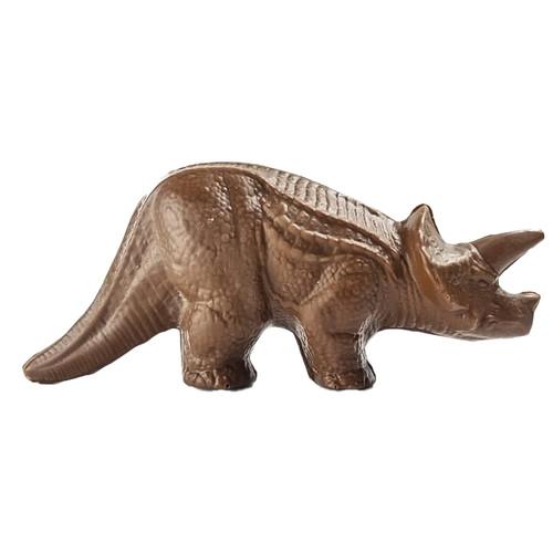 milk chocolate dinosaur made by Bon Bon Bon in Detroit, Michigan