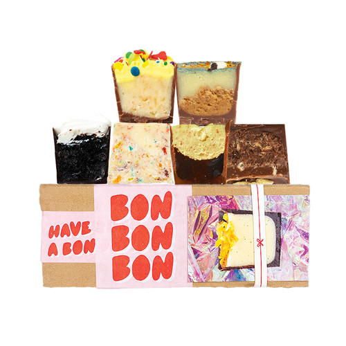 6 piece chocolate collection for kids and adults