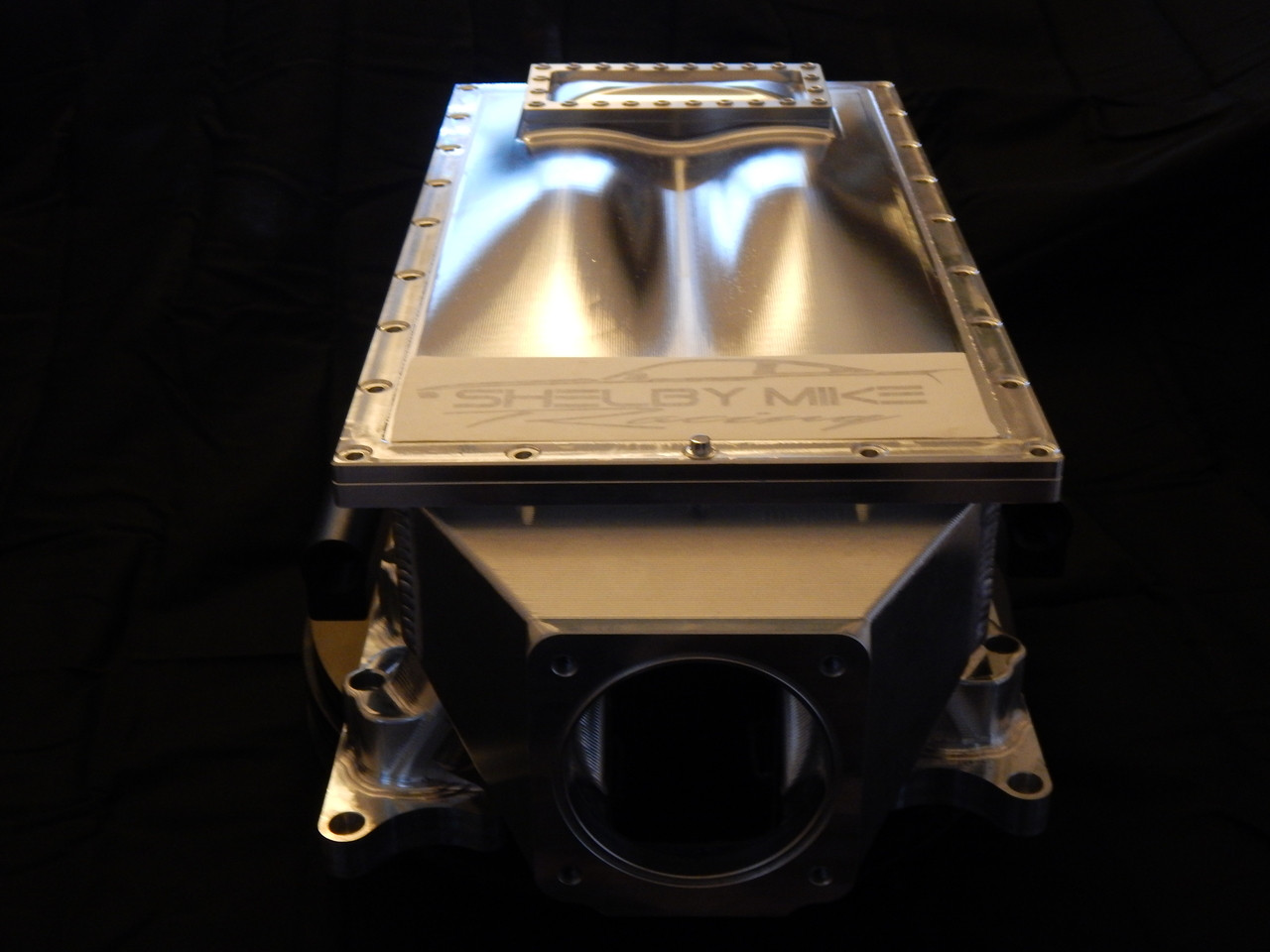 Modular Ford Billet/Sheet Metal Plenum Intake