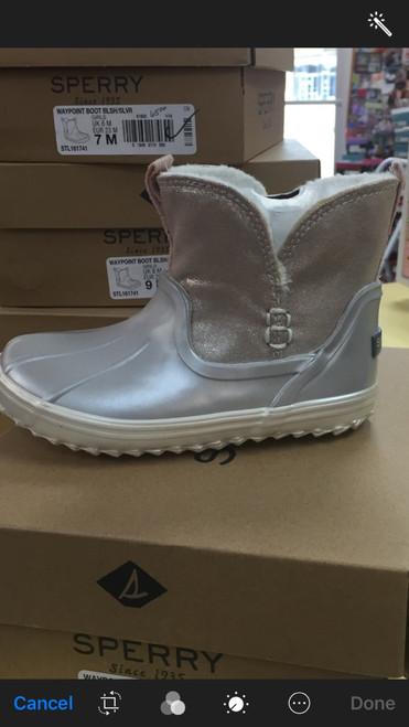 Sperry Waypoint Boot  Blsh/Slvr      161741