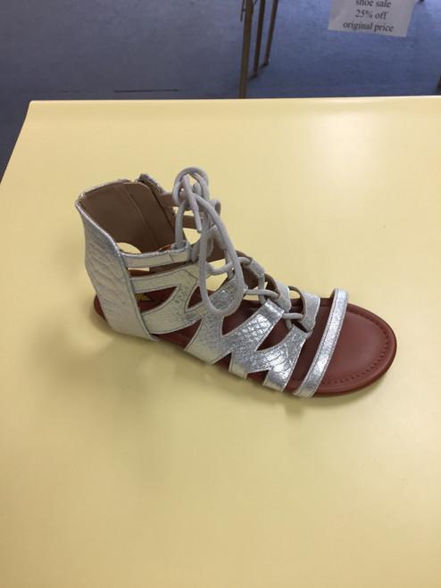 Amalfi silver sandal