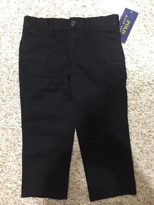 Ralph Lauren   BlackFront Button Pant Polo