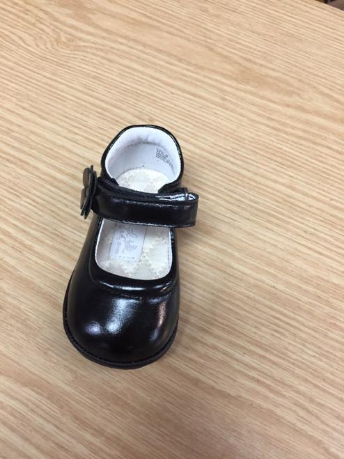 Angel Baby Shoe   Black  T240BK