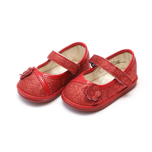 Angel Baby Shoe   T200     G Red