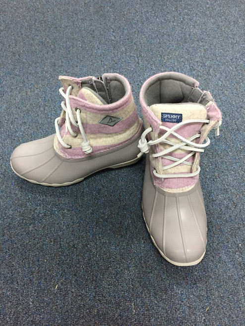 Sperry Saltwater Boot/Oat/Lilac       162241