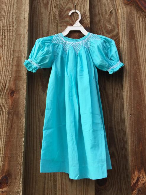 Mom & Me  Smocked Dress Puffed Sleeves 7660