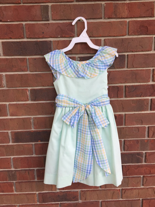 Bailey Boys   Sweet Mint Dress    Mint Green