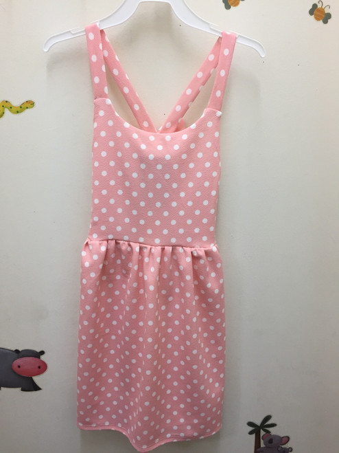 Area Code 407  Dot Sundress/Big Back Bow