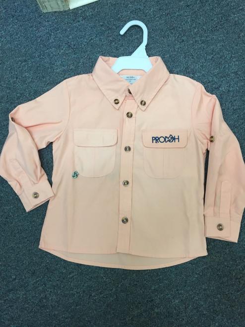 Prodoh Kids  L S Shirt    Peach